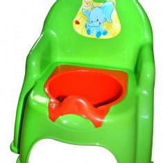 Olita pentru copii Doloni cu elefant, verde deschis