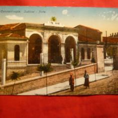 Ilustrata Constantinopole - Sublima Poarta inc. sec.XX