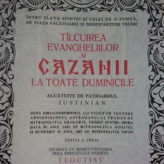 CAZANIA - TALCUIREA EVANGHELIILOR LA TOATE DUMINICILE - PATRIARHUL IUSTINIAN