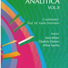 Chimie analitica vol. II - Autor(i): Vasile Dorneanu, Gladiola Tantaru, Mihai Apostu, - Carte Chimie