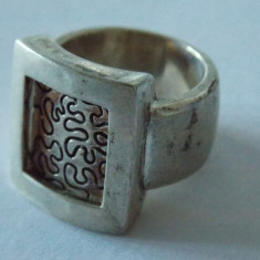 Inel argint vintage -2015