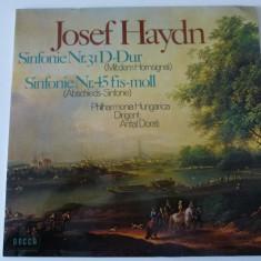 Haydn - sy.31, 45 - dorati - vinyl, VINIL, decca classics