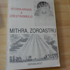 CHARLES AUTRAN--ISTORIA ARIANA A CRESTINISMULUI - MITHRA, ZOROASTRU - Carte mitologie
