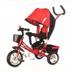 Tricicleta Skutt Agilis Red - Tricicleta copii Skutt, Rosu