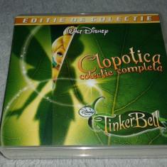 TinkerBell - Clopotica colectia intreaga 7 filme - Film animatie disney pictures, Alte tipuri suport, Romana