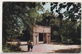 Bnk cp Targu Jiu - Poarta sarutului - uzata, Circulata, Printata