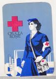 bnk cld Calendar de buzunar 1973 - Crucea Rosie