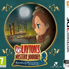 Joc consola Nintendo LAYTONS MYSTERY JOURNEY KATRIELLE AND THE MILLIONAIRES CONSPIRACY 3DS