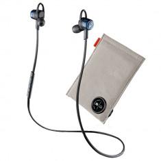 Casti Wireless Plantronics Backbeat Go 3 plus husa de incarcare Blue