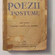 "CY - EMINESCU ""Poezii Postume"" ingrijita Alexandru Colorian & AL. Iacobescu 1940"