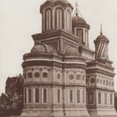 ROMANIA MANASTIREA CURTEA DE ARGES - Carte Postala Muntenia dupa 1918, Circulata, Printata
