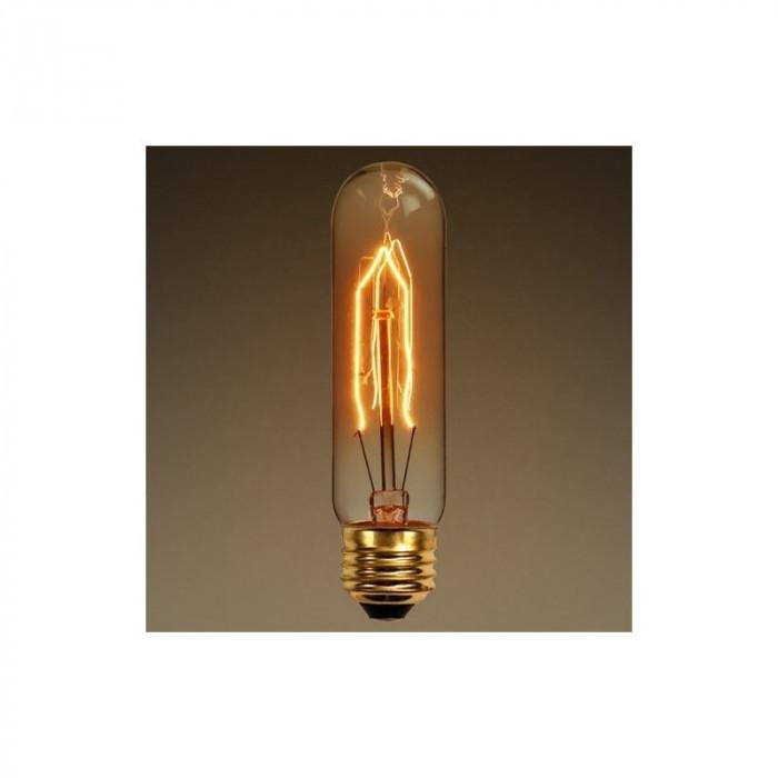 Edison Line Vintage 40W E27 Bec Decorativ T10 AL70 foto mare