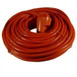 Extension cable red/orange 20 mtr. EU Plug Size 3 x 1.5mm - Cablu PC