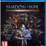 Joc consola Warner Bros Entertainment MIDDLE EARTH SHADOW OF WAR SILVER EDITION PS4 - Jocuri PS4