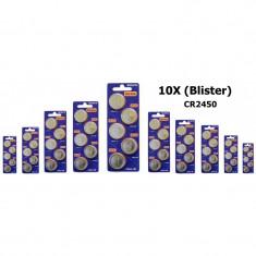 Sony CR2450 lithium battery Conţinutul pachetului 10x Blistere - Baterie Aparat foto