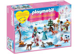 Calendar Craciun - Patinaj pe gheata, Playmobil