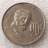 P2. Mexic 20 Centavos 1975 **, America de Nord