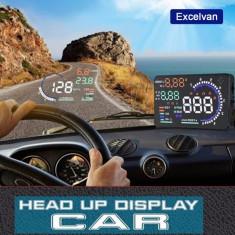 A8 HUD OBD OBD 5.5 Head up LED Dashboard Display P