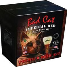 Bulldog Bad Cat Imperial Red - kit pentru bere de casa 23 litri. Bere IPA, Bruna
