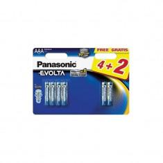 6x Panasonic Evolta LR3/AAA (blister)