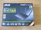 Router wireless N600 ASUS DSL-N55U ADSL Gigabit Dual-Band., Port USB, 4, 1