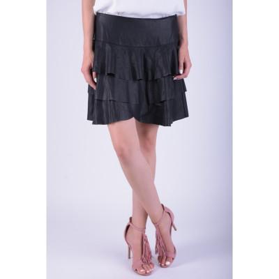 Fusta Vero Moda Vmhome Nw Short Skirt Negru foto