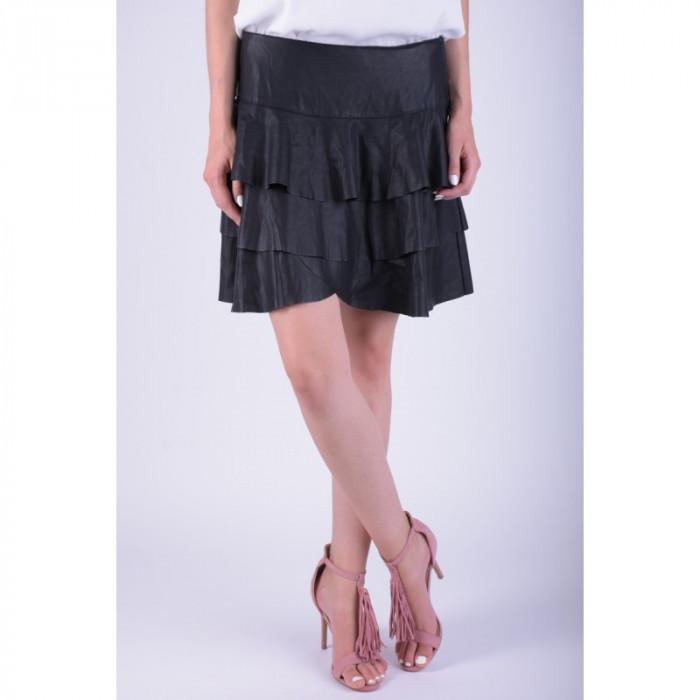 Fusta Vero Moda Vmhome Nw Short Skirt Negru foto mare