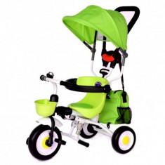 Tricicleta pliabila Plika Lime Skutt - Tricicleta copii