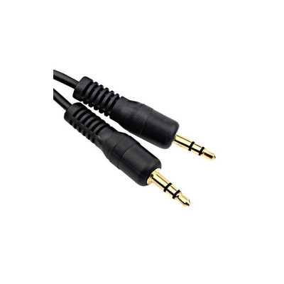 3.5mm Audio Jack Male-Male Cable 1 Meter YAI326 foto