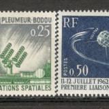 Franta.1962 Centrul de Telecomunicatii Spatiale SF.70 - Timbre straine, Nestampilat