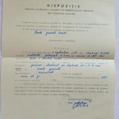 (T) Document '71 Dispozitie privind stabilirea salarizarii personalului didactic, Documente