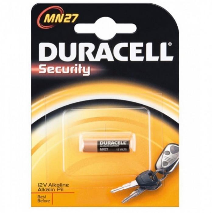 1x Duracell A27 27A, CA22, EL-812, EL812, G27A MN2 foto mare