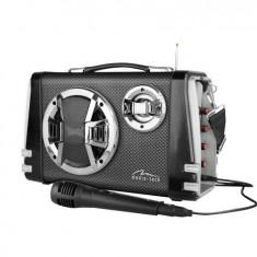 Boxa portabila Mediatech MT3149 Karaoke Boombox BT cu microfon