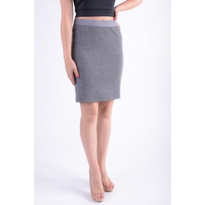 Fusta Vero Moda Vmangela Snake Nw Abk Skirt Medium Grey foto