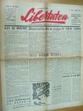 Libertatea 2 februarie 1945 Dobrian caricatura Hitler Brasov Ilfov Stoia Zaroni