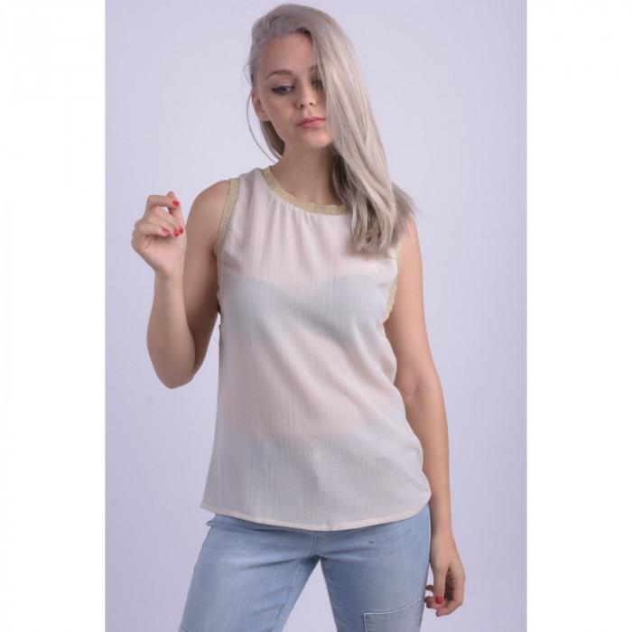 Bluza Vero Moda Vmeliza Sl Top Oatmeal foto mare