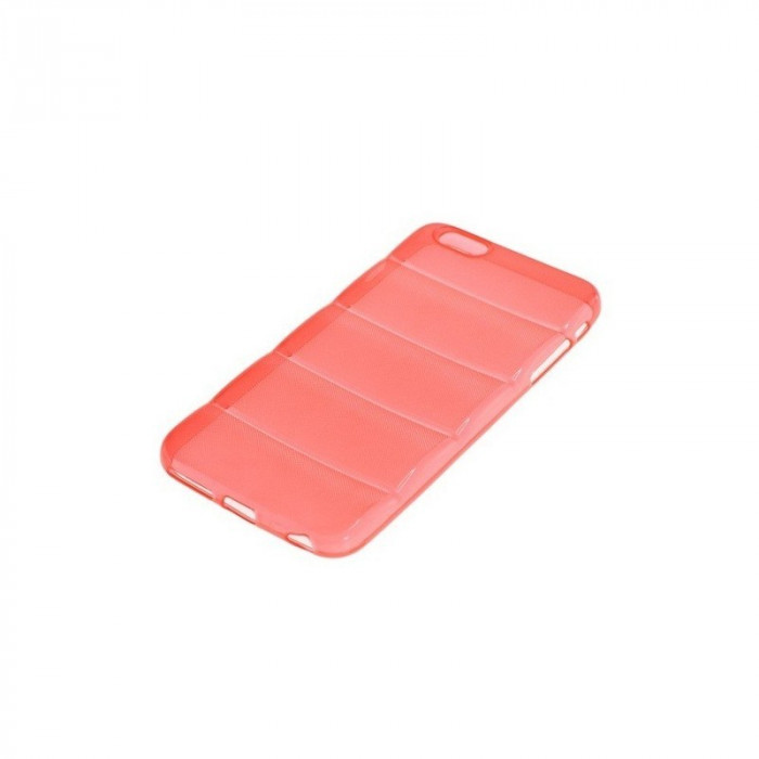 TPU Case pentru iPhone 6 Plus LINES Culoare Roșu foto mare