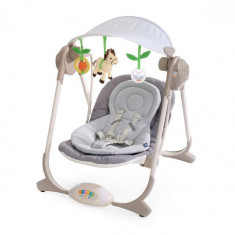 Balansoar Chicco Polly Swing - Balansoar interior Chicco, Gri