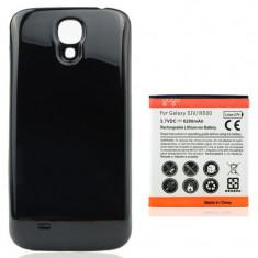 Baterie 5600 mAh si capac negru pt Samsung Galaxy S4 i9500 i9505