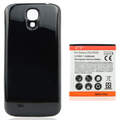 Baterie 6200 mAh si capac negru pt Samsung Galaxy S4 i9500 i9505, Li-ion