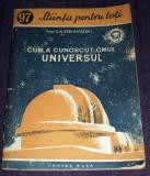 Cum a cunoscut omul Universul, Stiinta pentru toti, Cartea Rusa 1954, ilustratii, Alta editura