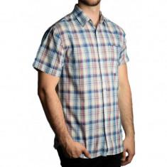 Camasa Jack&Jones Jjvcpiney Shirt S/s One Pocket Slim Fit Federal Blue