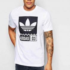 Tricou Adidas Graphic-Tricou Original-Tricou Barbat Bumbac- AJ7716 - Tricou barbati Nike, Marime: M, L, XL, XXL, Culoare: Din imagine, Maneca scurta