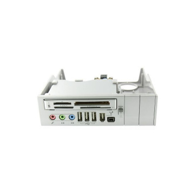 Panel 5.25 Silver 64 in 1 - Cardreader USB Firewir foto