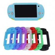 Husa silicon PSP3000 PSP 3000 Culoare Albastru deschis