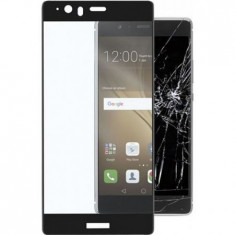 Geam HUAWEI Honor 8 Tempered Glass Full Face Black - Folie de protectie Huawei, Lucioasa