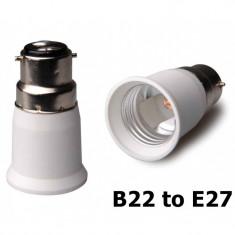 B22 to E27 Base Converter AL262 - Accesoriu instalatie electrica