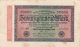 GERMANIA 20.000 marci 1923 VF/VF+!!!