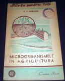 Microorganismele in agricultura, Stiinta pentru toti Cartea Rusa 1949 ilustratii