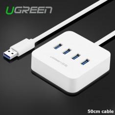 USB 3.0 HUB 4 Ports 5Gbps Lungime 1 Metru